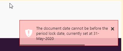 Lock date