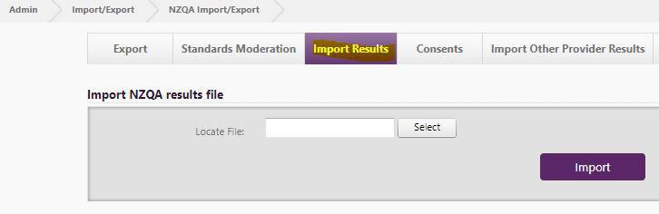 NZQA results file