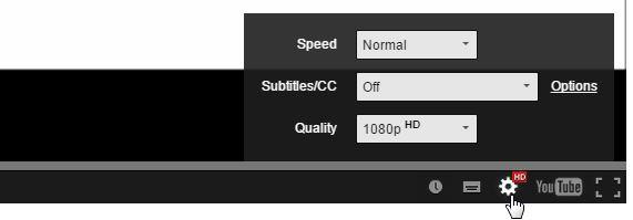 We wanted to show you the video clarity settings